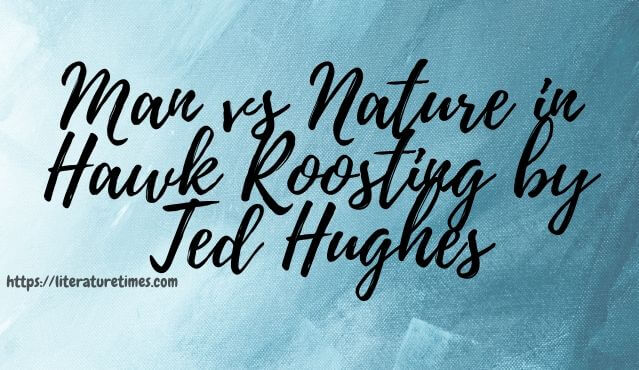 Man vs Nature in Hawk Roosting by Ted Hughes