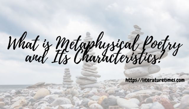 metaphysical poetry characteristics