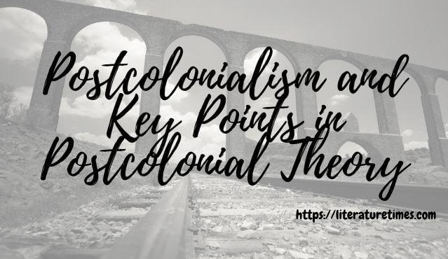 postcolonialism postcolonial theory
