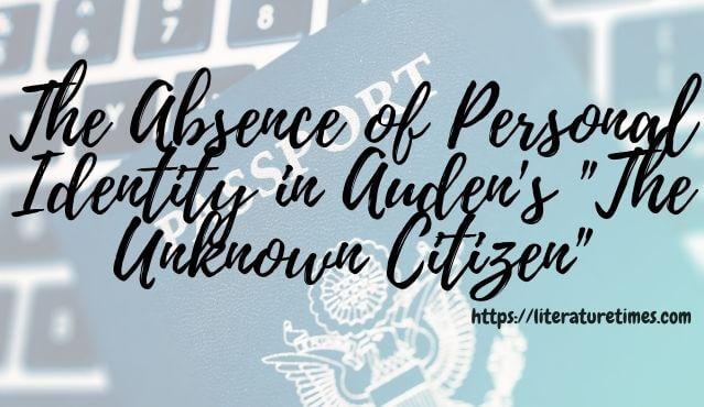 unknown citizen identity