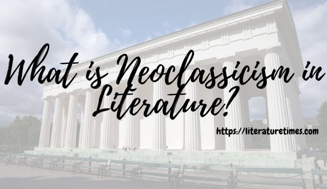 neoclassicism, literature