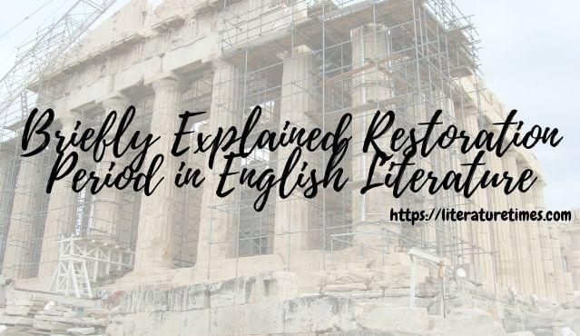 Restoration Period in English Literature
