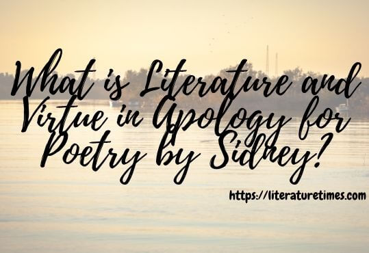 What is Literature and Virtue in Apology for Poetry by Sidney