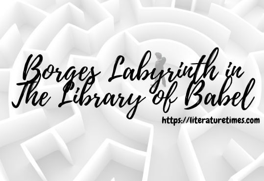 Borges Labyrinth in The Library of Babel