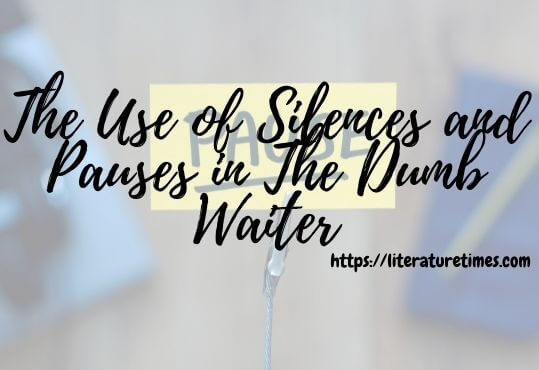 The Use of Silences and Pauses in The Dumb Waiter