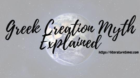 Greek Creation Myth Explained