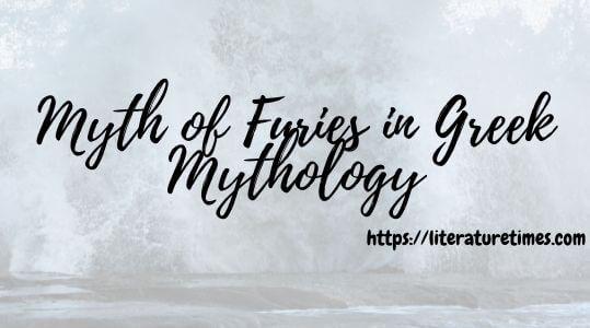 Myth of Furies in Greek Mythology
